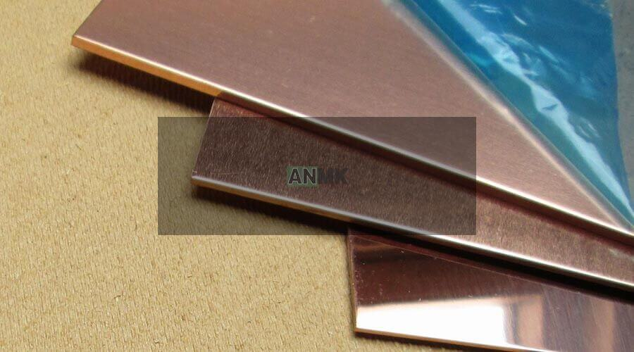 Copper products from Egypt